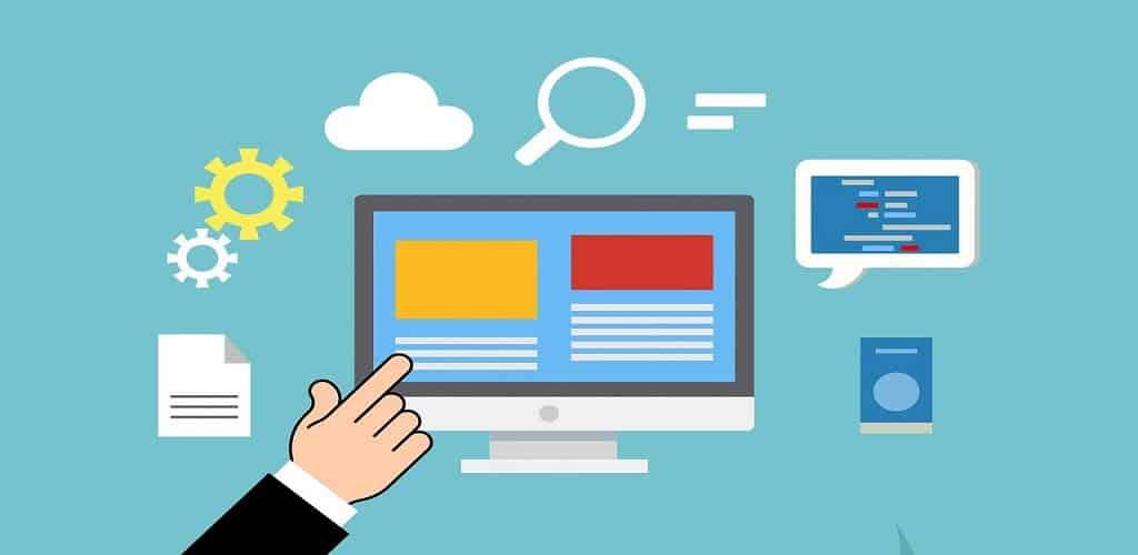 Jenis web hosting