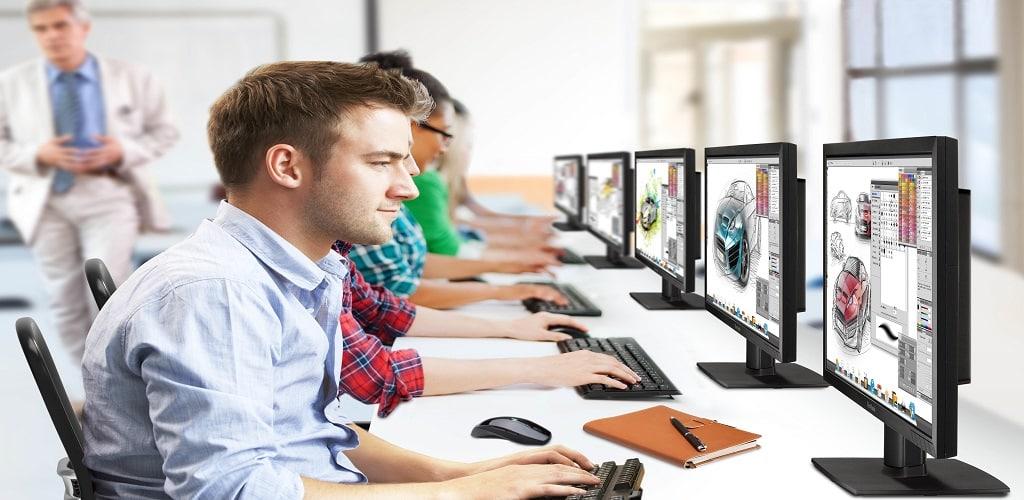 Monitor untuk desain grafis