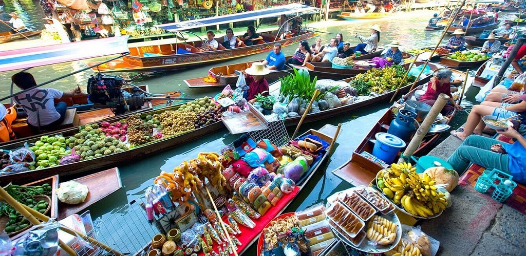 Pasar apung thailand