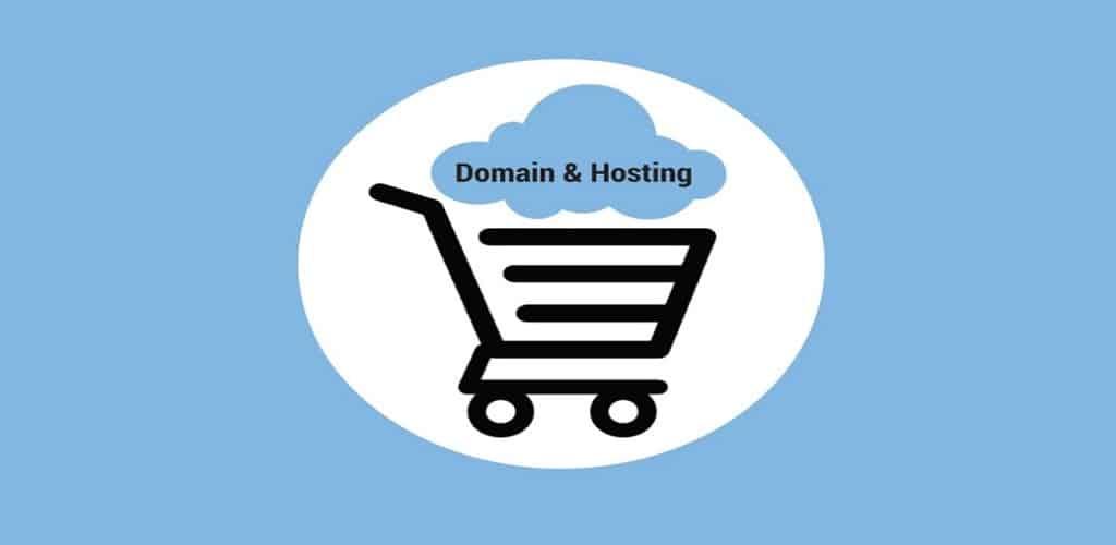 hosting dan domain adalah
