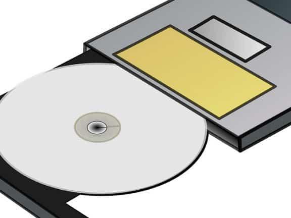 cara menghapus file di cd