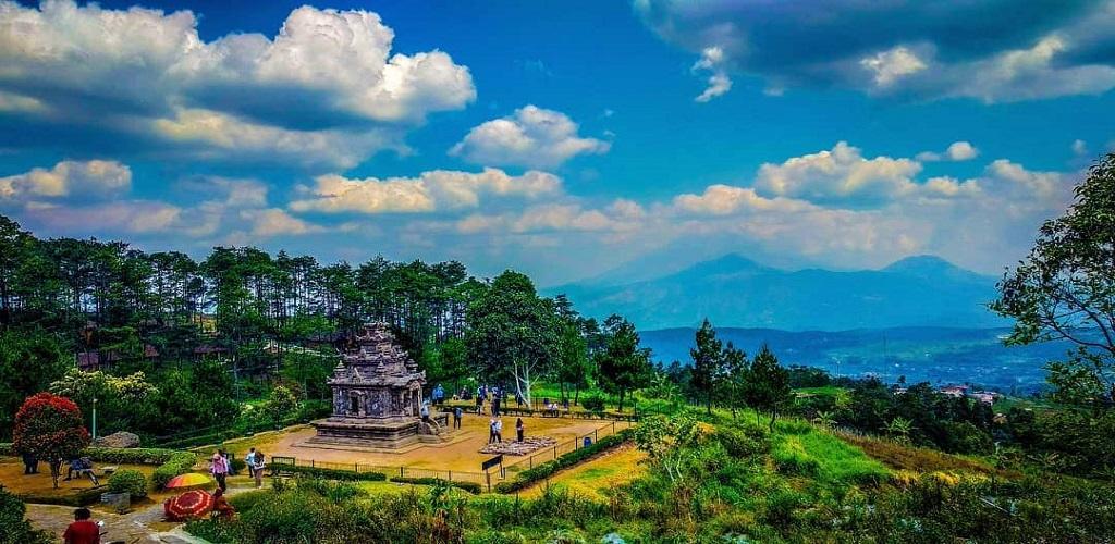 wisata candi gedong songo